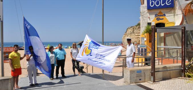 Lagoa luce seis banderas azules en sus playas