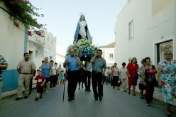 Las fiestas religiosas animan Portimao en agosto