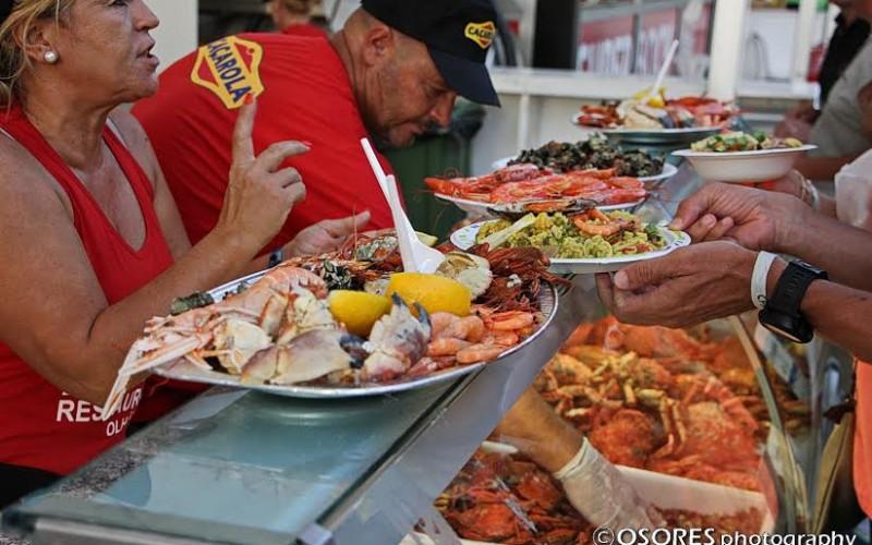 El mejor marisco del Algarve, protagonista en Olhão