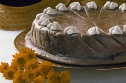 Receta de dulce de almendra con chocolate