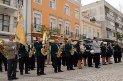 La Banda Filarmónica Artistas de Minerva, en concierto en Loulé