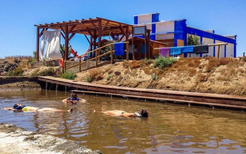 Flotar en el agua ya es posible en Castro Marim