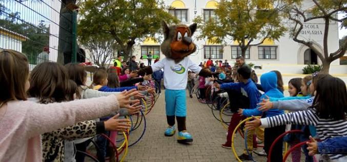 La II Estafeta Llamada para los Juegos recorre Silves