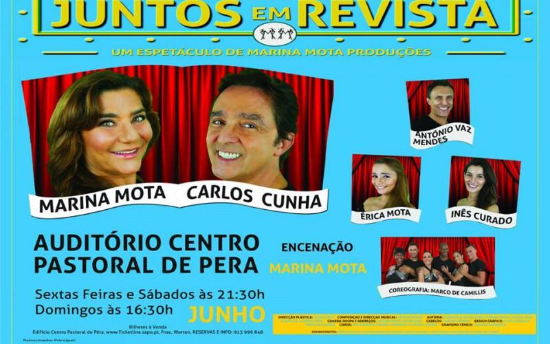 'Juntos en Revista' llega a Pêra