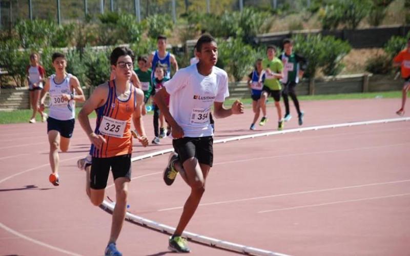 Atletas de todas las edades compiten en Lagoa