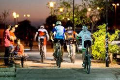 La zona histórica de Olhao acoge su II Ruta Nocturna en BTT