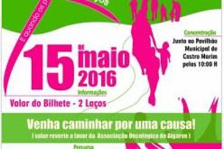 Un paseo solidario contra el cáncer en Castro Marim