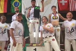 Filipe Alexandre, medalla de oro en el Campeonato Europeo de Capoeira