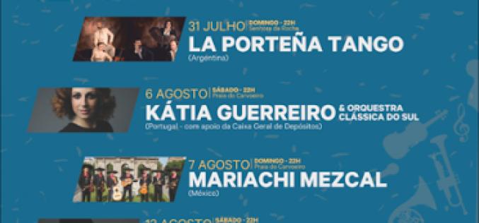 El Festival 'Sonidos del Atlántico' llega a Senhora da Rocha, Carvoeiro y Ferragudo