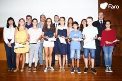 Faro homenajea a estudiantes y profesores al inicio del curso escolar