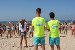 La Playa da Rocha, centro de deporte este verano