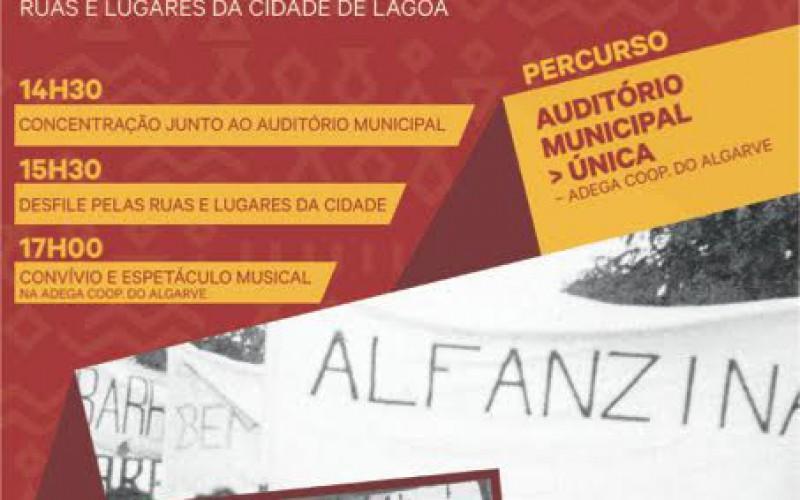 Lagoa, escenario del desfile etnográfico 'Nuestra gente, nuestra identidad'