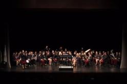 La Banda Filarmónica de Moncarapacho, en concierto en el Auditorio de Olhao