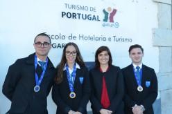 Los estudiantes de Hostelería y Turismo del Algarve brillan en Europa