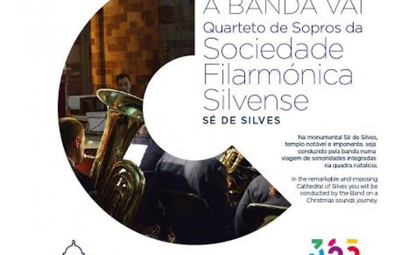 La Sociedad Filarmónica de Silves, en concierto en la Catedral