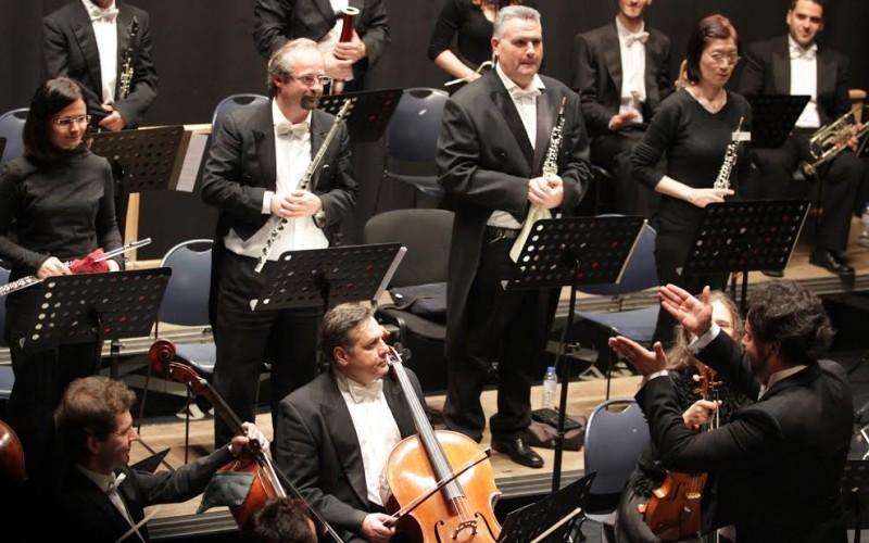 La Orquesta Clássica do Sul da dos Conciertos de Año Nuevo en Loulé