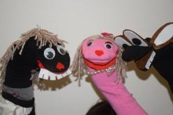Teatro de marionetas, en Loulé