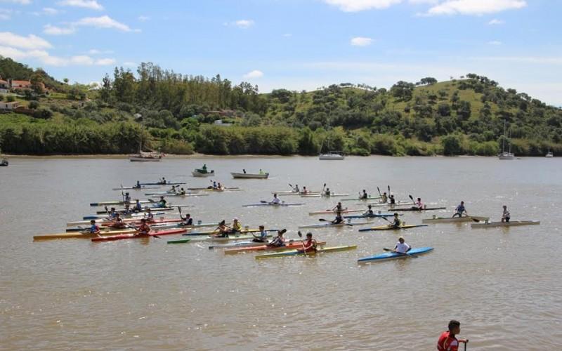 Alcoutim acoge el Campeonato Nacional de Piragua
