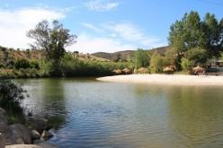 La playa fluvial de Alcoutim comienza su temporada de baño