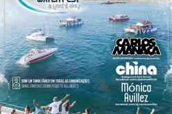 De fiesta en barco por el Algarve