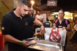 El MED reparte 114 kilos de alimentos en Loulé