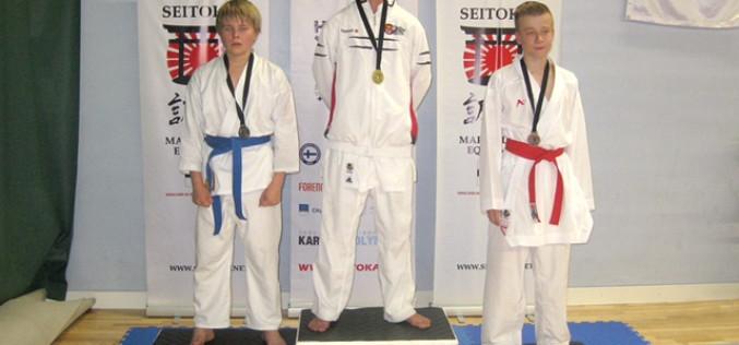 Karateca de Olhao logra la Medalla de Oro en Finlandia