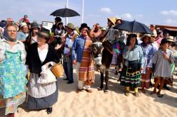 Manta Rota revive la tradición del Baño Santo