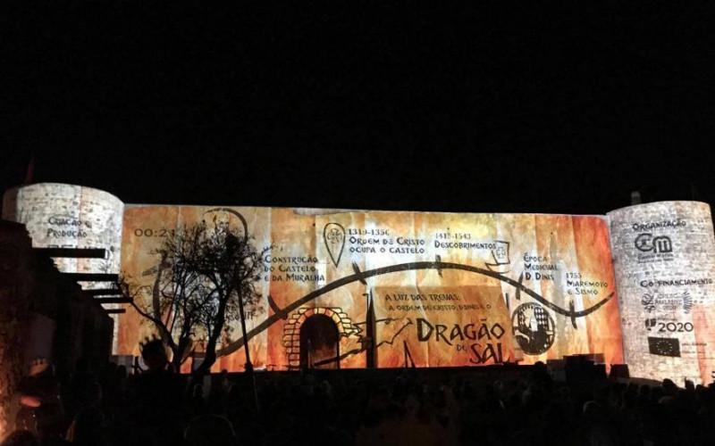 El Dragón de Sal regresa al Castillo de Castro Marim
