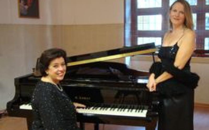 Isobel Reis y Raquel Correia, en el ciclo 'Música en las Iglesias'