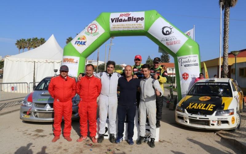 Márcio Marreiros vence el Rally de Vila do Bispo