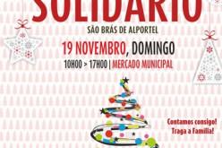 Un Mercadillo Solidario abre la época navideña en São Brás