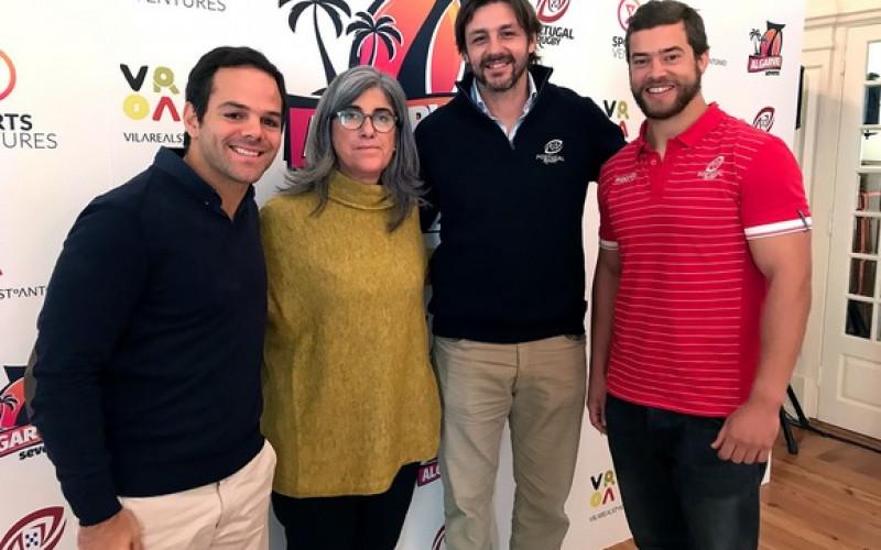 Estrellas del rugby se reunirán en Vila Real en el Algarve Sevens 2018