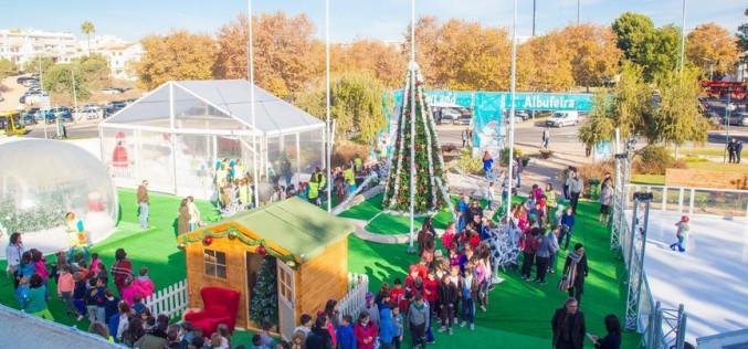 Albufeira se llena de magia esta Navidad