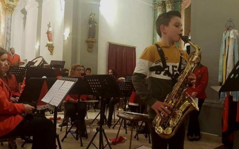 La Banda Musical de Castro Marim da un Concierto de Navidad