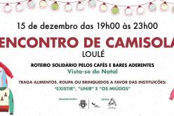 Loulé se llena de solidaridad con el Encuentro de Camisetas de Navidad