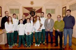 Loulé rinde homenaje a las deportistas Mafalda Brás y Vera Cordeiro