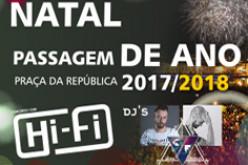 Música y fuegos artificiales, en el Fin de Año de Tavira