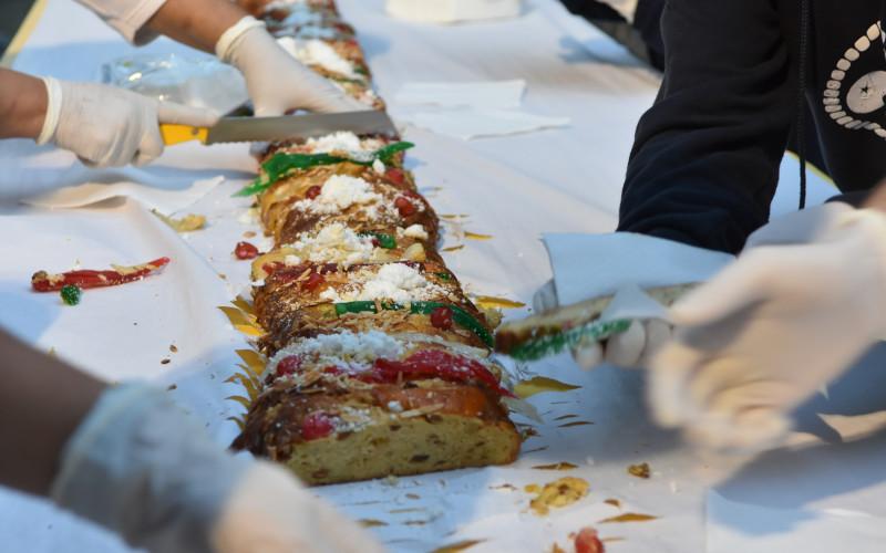 Loulé elabora su Roscón de Reyes Gigante
