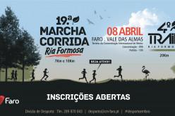 Faro acoge la Marcha-Carrera de la Ría Formosa