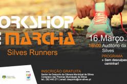 Un taller sobre marcha y carrera, en Silves
