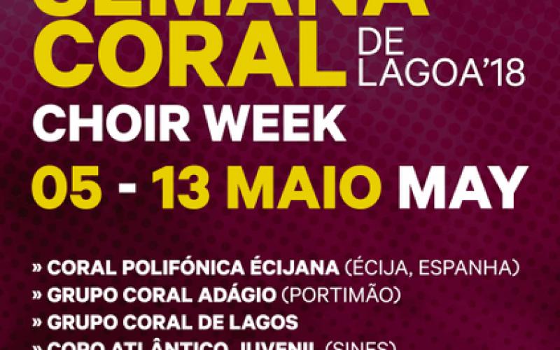 Lagoa se llena de música en su XX Semana Coral