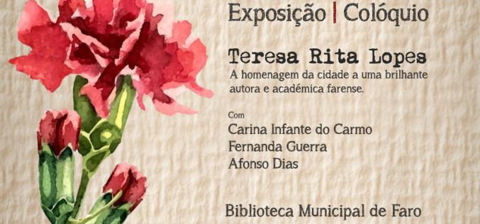 Faro rinde homenaje a la escritora Teresa Rita Lopes