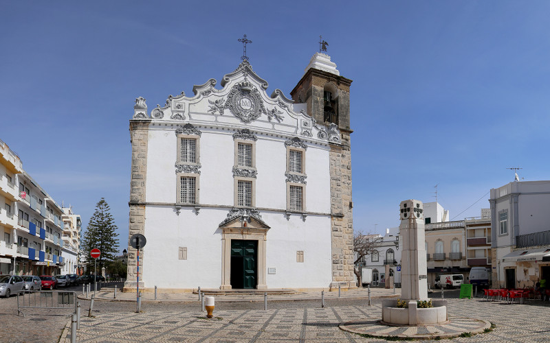 La Iglesia Matriz de Olhão, favorita de los visitantes