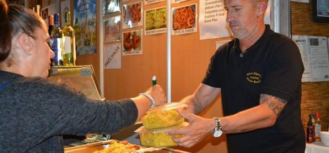 El MED reúne casi 400 comidas para ayuda alimenticia