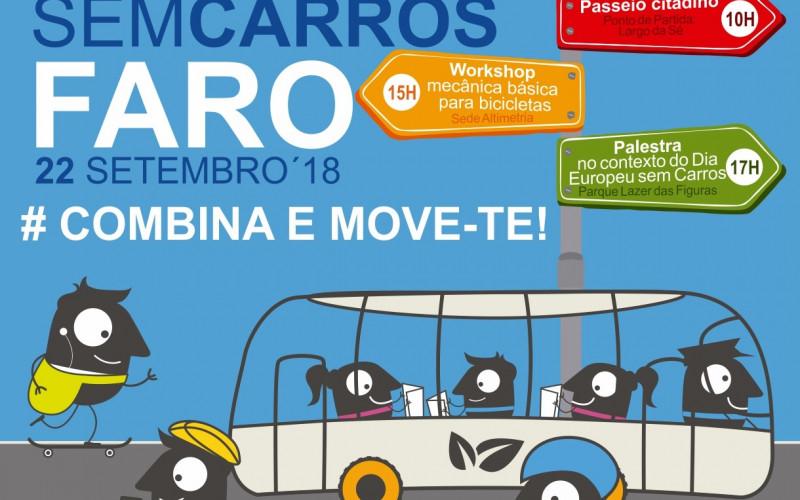 Faro se pone a pedalear en el Día sin Coches