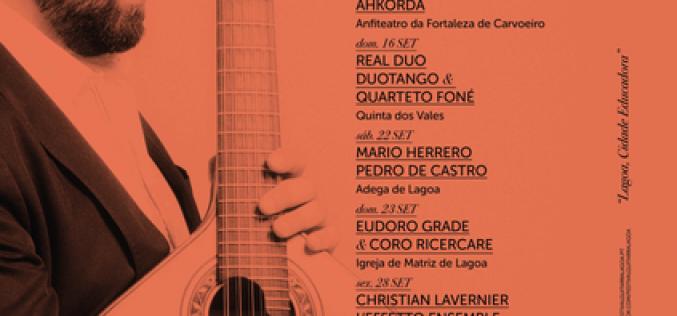 El V Festival Internacional de Guitarra llega a Lagoa