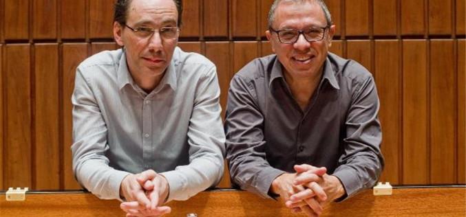 Mário Laginha y Pedro Burmester, en concierto en Faro