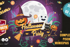 Silves anima sus piscinas municipales con una Halloween Party