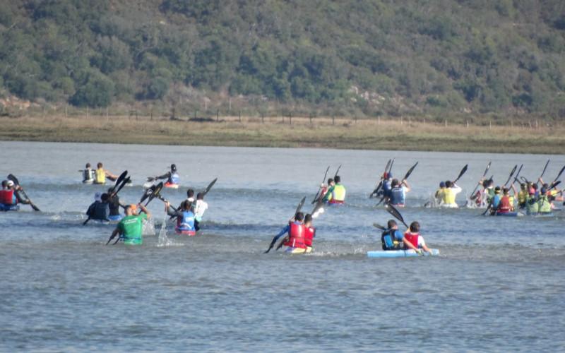Los Castores do Arade lideran la XXI Subida del Río Arade