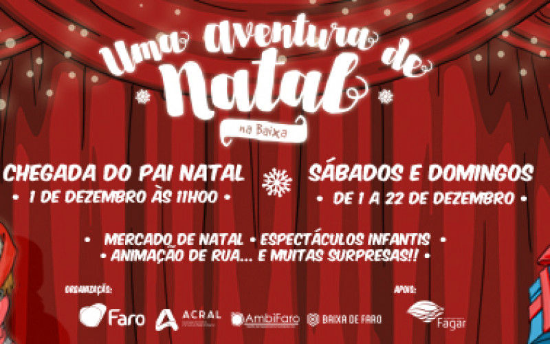 El espíritu navideño invade el centro de Faro